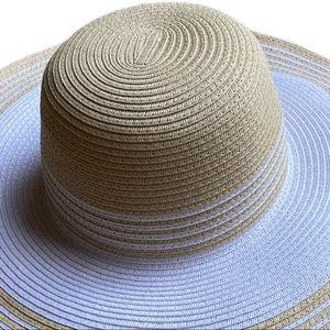 NWT Jones New York Paper Straw Hat
